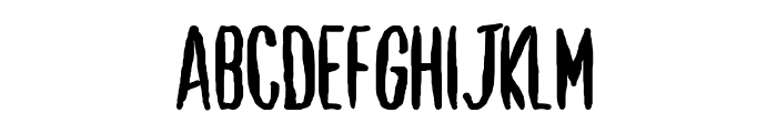 Shut Up and Love Me Font UPPERCASE