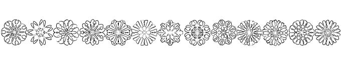 shapes Font UPPERCASE