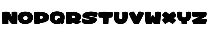 sharky&medusa 1 Font UPPERCASE