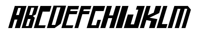 shellhead 2 Italic Font LOWERCASE