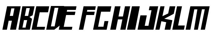 shellhead Bold Italic Font LOWERCASE