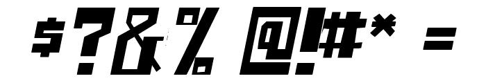 shellhead Italic Font OTHER CHARS