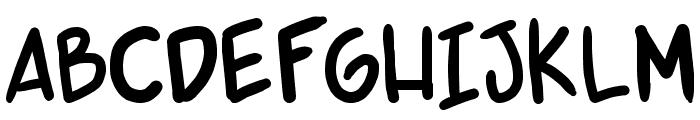 shonen punk v2 Font UPPERCASE