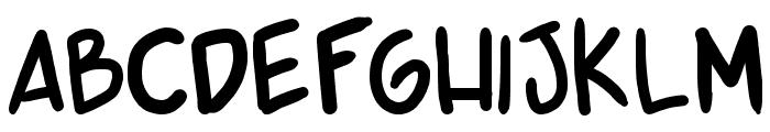 shonen punk v2 Font LOWERCASE