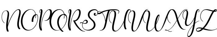 shunligh Personal Use Only Font UPPERCASE