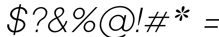 Shree Devanagari 714 Italic Font OTHER CHARS