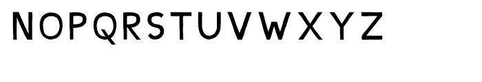 Shababa Ba Regular Font UPPERCASE