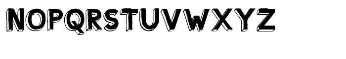 Shababa La Regular Font UPPERCASE