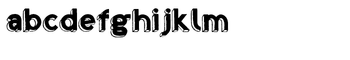 Shababa La Regular Font LOWERCASE