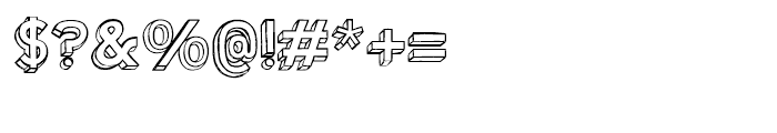 Shababa Na Regular Font OTHER CHARS