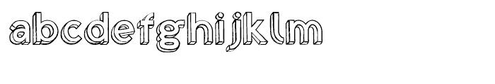 Shababa Na Regular Font LOWERCASE