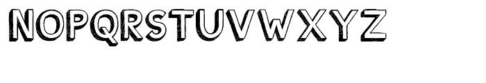 Shababa Regular Font UPPERCASE