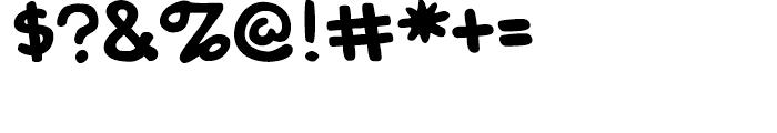 Shannon Wheeler Regular Font OTHER CHARS