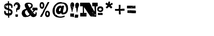 Shelton Slab Font OTHER CHARS