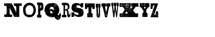 Shelton Slab Font UPPERCASE