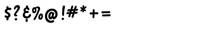 Sherbet BF Regular Font OTHER CHARS
