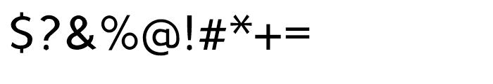 Sherbrooke Regular Font OTHER CHARS