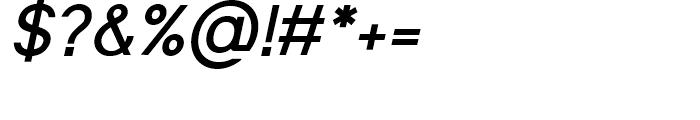 Shine Pro Bold Oblique Font OTHER CHARS
