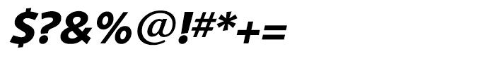 Shinn Bold Italic Font OTHER CHARS