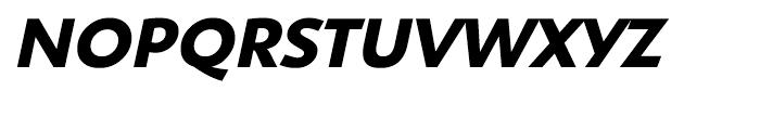 Shinn Bold Italic Font UPPERCASE