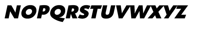 Shinn Extra Bold Italic Font UPPERCASE