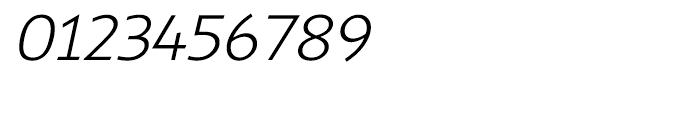 Shinn Light Italic Font OTHER CHARS