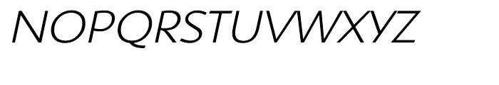 Shinn Light Italic Font UPPERCASE