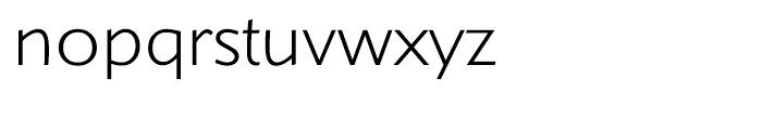 Shinn Light Font LOWERCASE