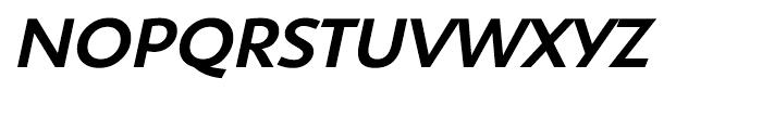 Shinn Medium Italic Font UPPERCASE