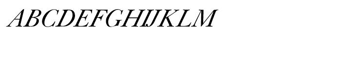 Shree Bangali 0590 Italic Font UPPERCASE