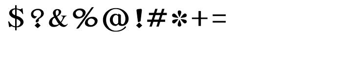Shree Bangali 1510 Regular Font OTHER CHARS