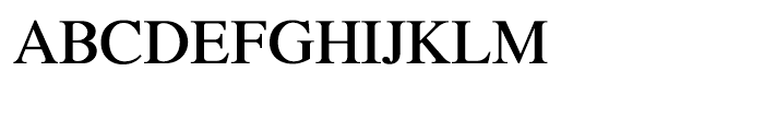 Shree Bangali 1532 Regular Font UPPERCASE