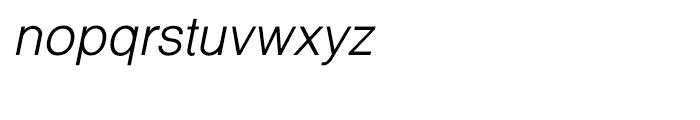 Shree Bangali 1538 Italic Font LOWERCASE