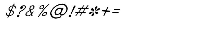 Shree Bangali 1560 Italic Font OTHER CHARS