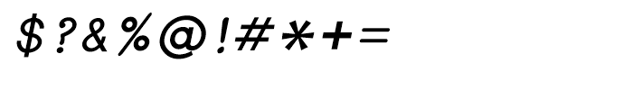 Shree Bangali 1598 Bold Italic Font OTHER CHARS