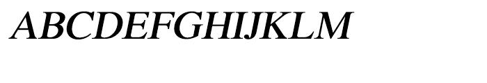 Shree Bangali 1599 Italic Font UPPERCASE
