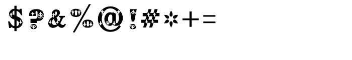 Shree Bangali 5103 Regular Font OTHER CHARS