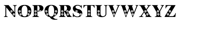Shree Bangali 5103 Regular Font UPPERCASE