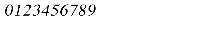 Shree Devanagari 0701 Italic Font OTHER CHARS