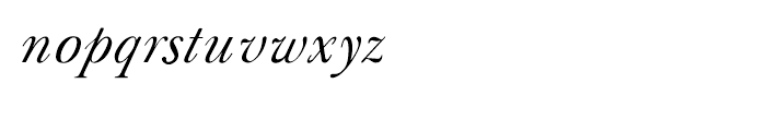Shree Devanagari 0991 Italic Font LOWERCASE