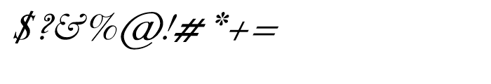 Shree Gujarati 1116 Italic Font OTHER CHARS