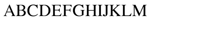 Shree Gujarati 2551 Regular Font UPPERCASE