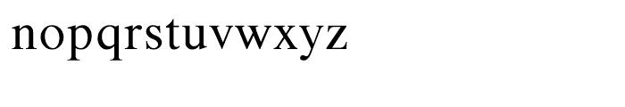 Shree Gujarati 2551 Regular Font LOWERCASE