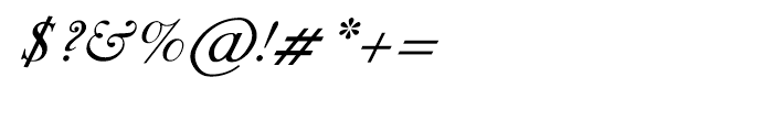 Shree Gujarati 3304 Italic Font OTHER CHARS