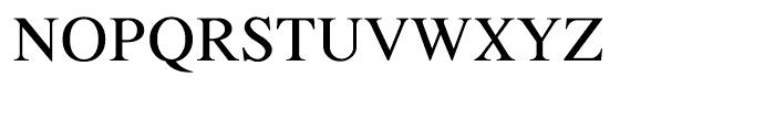 Shree Gujarati 3750 Regular Font UPPERCASE