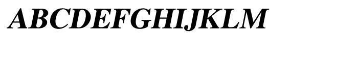 Shree Malayalam 1894 Bold Italic Font UPPERCASE