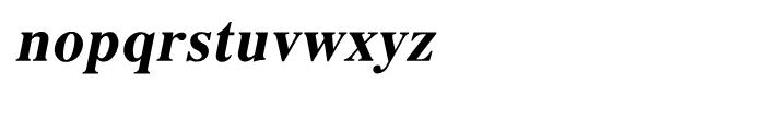 Shree Malayalam 1894 Bold Italic Font LOWERCASE