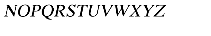 Shree Malayalam 1899 Italic Font UPPERCASE