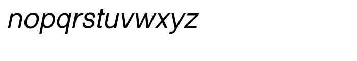 Shree Malayalam 3215 Italic Font LOWERCASE