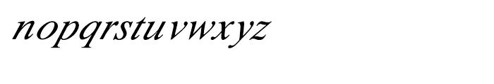 Shree Oriya 0615 Italic Font LOWERCASE